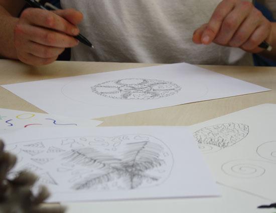 Workshop-mandala-drawing